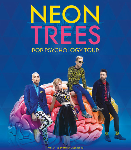 Neon Trees: Pop Psychology Tour 2014