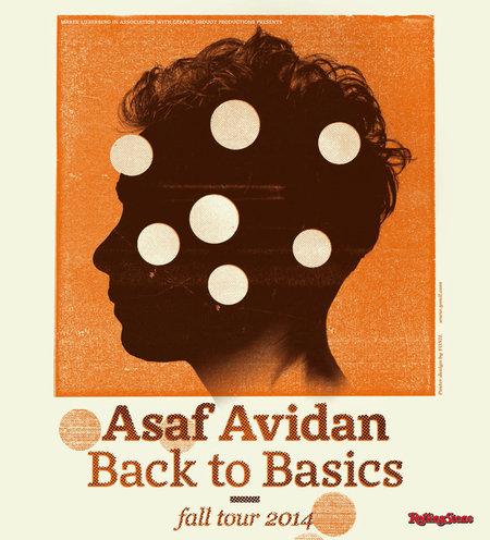 Asaf Avidan: Back To Basics Fall Tour 2014