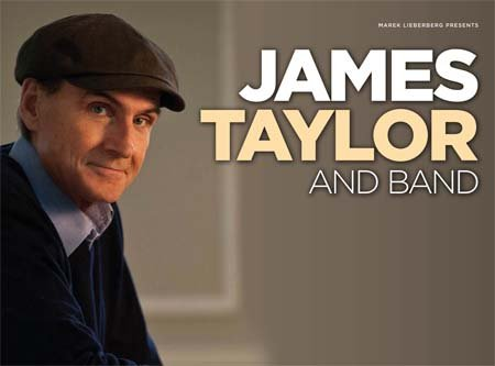 James Taylor: And Band - Tour 2015