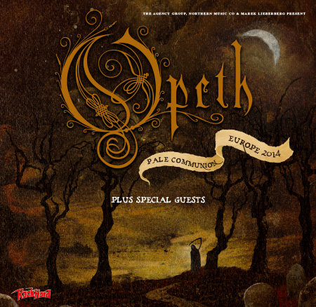 Opeth: Tour 2014