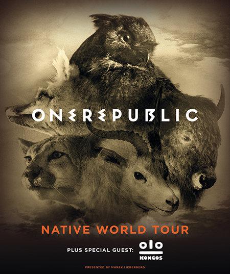 OneRepublic: Native World Tour 2014