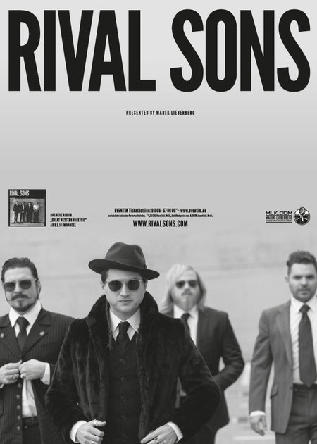 Rival Sons Rival Sons Live 2014