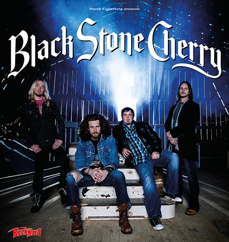 Black Stone Cherry: Tour 2014