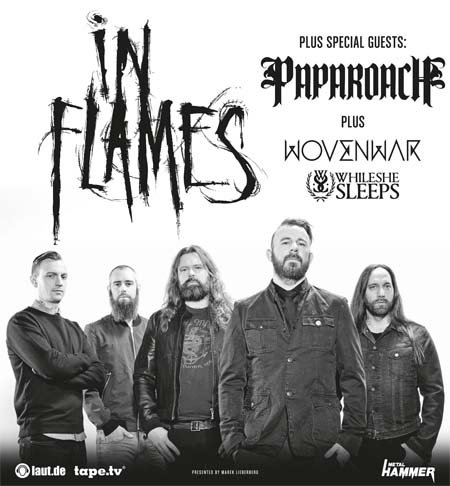 In Flames: Tour 2014