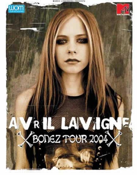 Avril Lavigne: Bonez Tour 2004