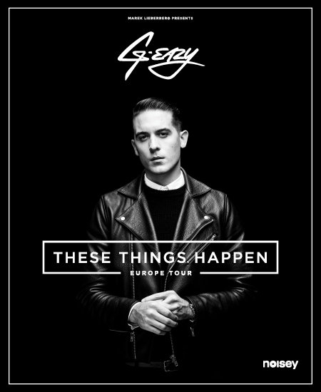 G-Eazy: These Things Happen - Europe Tour 2014