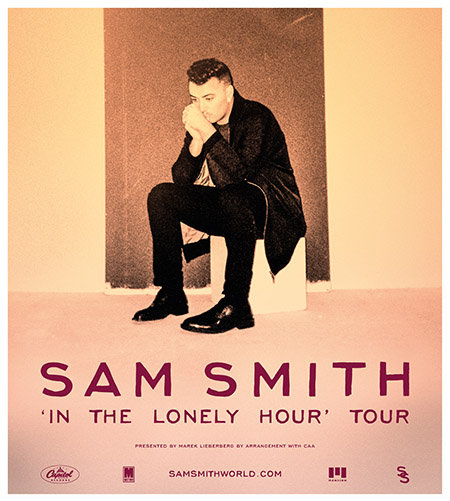 Sam Smith: 'In The Lonely Hour' Tour 2014