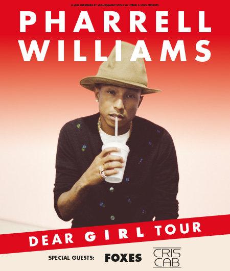 Pharrell Williams: The Dear G I R L Tour 2014