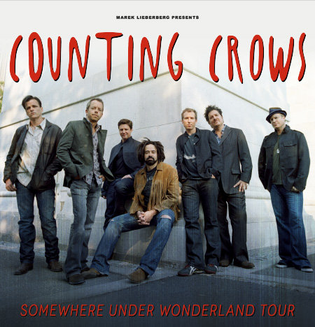 Counting Crows: Somewhere under Wonderland Tour 2014