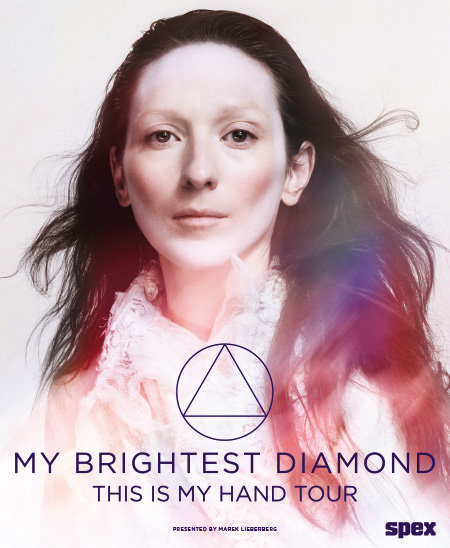 My Brightest Diamond: This Is My Hand Tour 2014