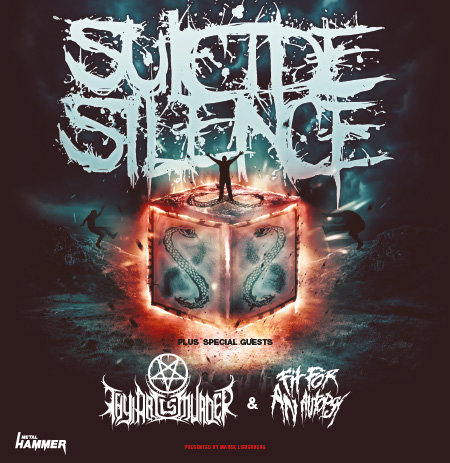 Suicide Silence: Tour 2014