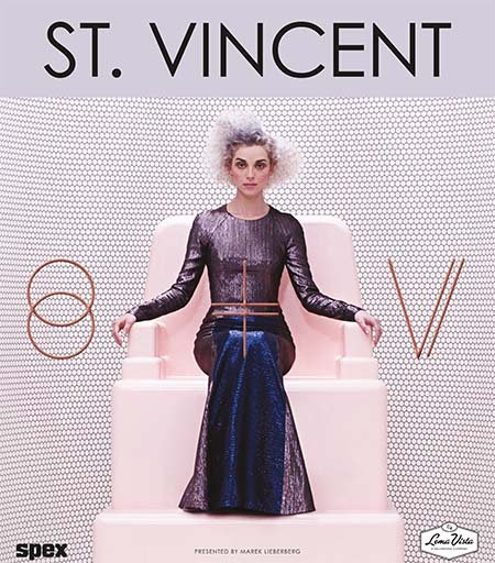 St. Vincent: Tour 2014