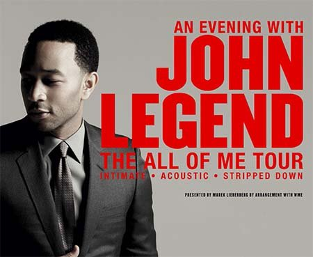 John Legend: The All Of Me Tour 2014