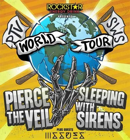Pierce The Veil & Sleeping With Sirens: Live 2015