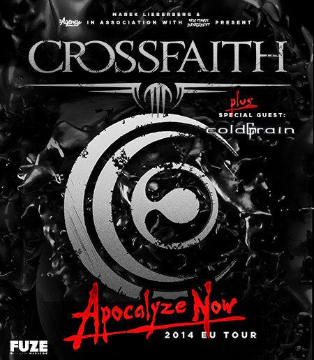 Crossfaith: Apocalyze Now - EU Tour 2014