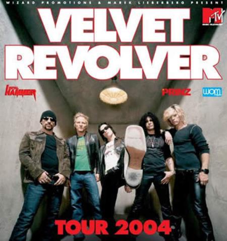 Velvet Revolver: Tour 2004