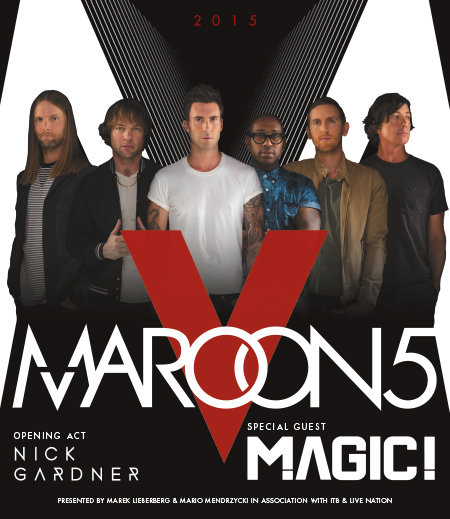 Maroon 5 World Tour 2015 Mlk Wwwmlkcom