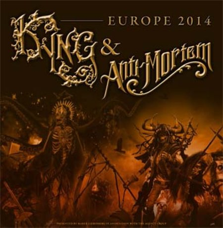 Anti-Mortem & Kyng: Europe Tour 2014