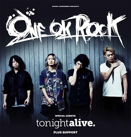 ONE OK ROCK: Tour 2014