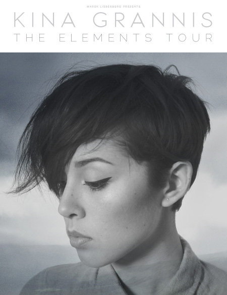 Kina Grannis: The Elements Tour 2014