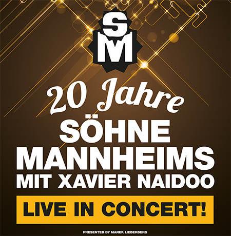 Söhne Mannheims: mit Xavier Naidoo - Live in Concert 2015
