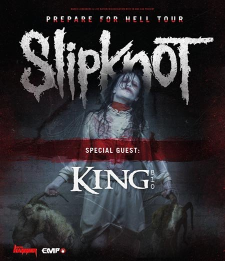Slipknot: Prepare For Hell Tour 2015