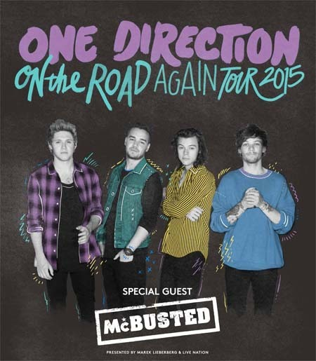 videos direction road again tour songs