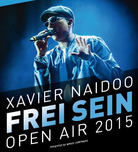 Xavier Naidoo: Frei Sein Tour 2015