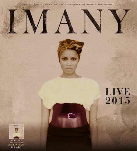 Imany: Live 2015
