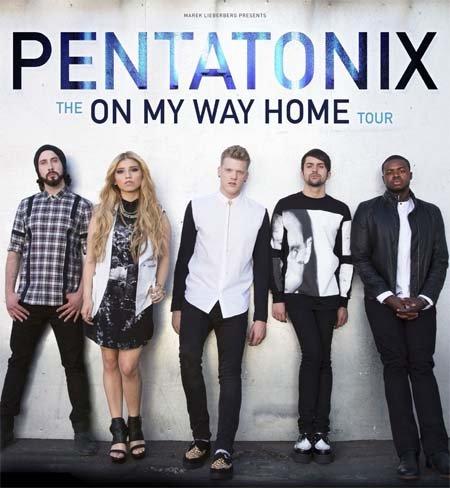 Pentatonix: The On My Way Home Tour 2015