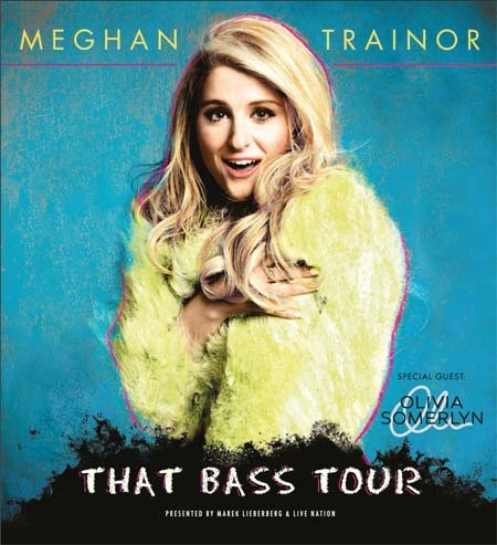 Meghan Trainor: That Bass Tour 2015