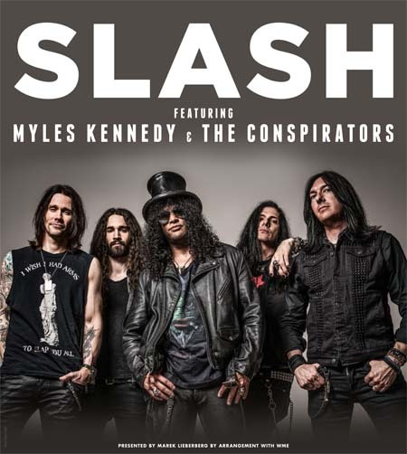 Slash: feat. Myles Kennedy & The Conspirators - Live 2015