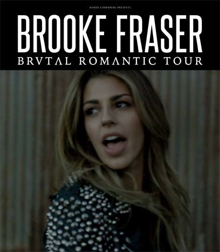Brooke Fraser: Brutal Romantic Tour 2015