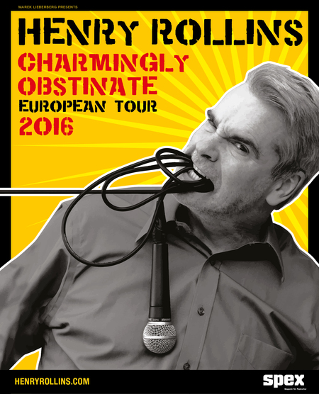Henry Rollins: Tour 2016