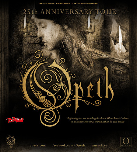 Opeth: 25th Anniversary Tour