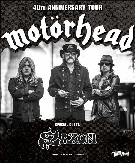 Motörhead: 40th Anniversary Tour 2015