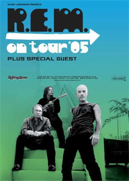 R.E.M.: On Tour 2005