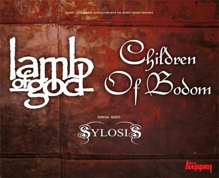 Lamb Of God & Children Of Bodom: Tour 2015