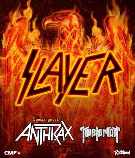 Slayer: Tour 2015