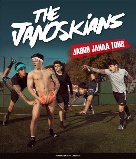 The Janoskians: Jahoo Jahaa Tour 2015