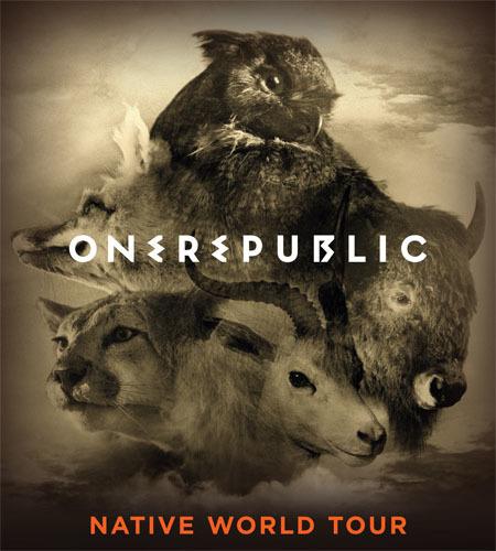 OneRepublic: Native World Tour 2015
