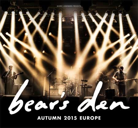 Bear's Den: Tour 2015