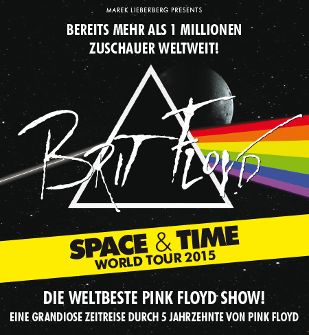 Brit Floyd: Space & Time World Tour 2015