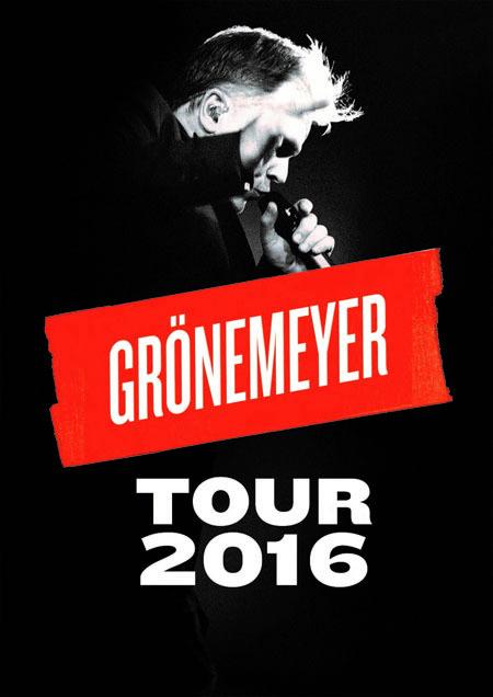 """Herbert Grönemeyer:  """"DAUERND JETZT"""" - Tour 2016"""