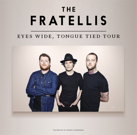 The Fratellis: Eyes Wide, Tongue Tied Tour 2015