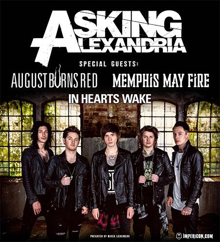 Asking Alexandria: Live 2015