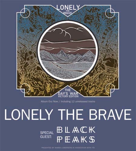 Lonely The Brave: Live 2015