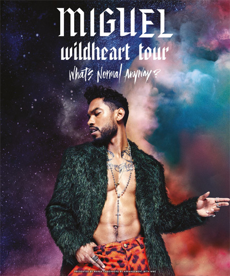 Miguel: Wildheart Tour 2015