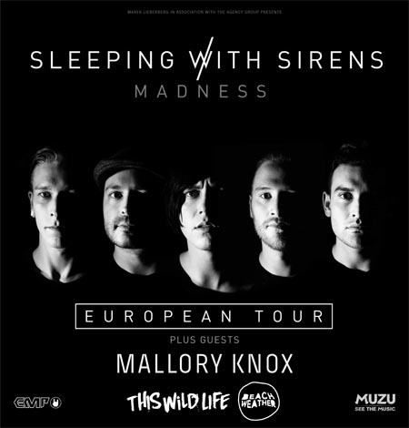Sleeping With Sirens: European Tour 2016