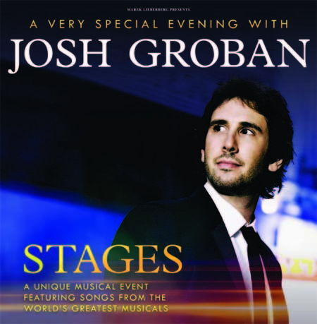 Josh Groban: Stages Tour 2016
